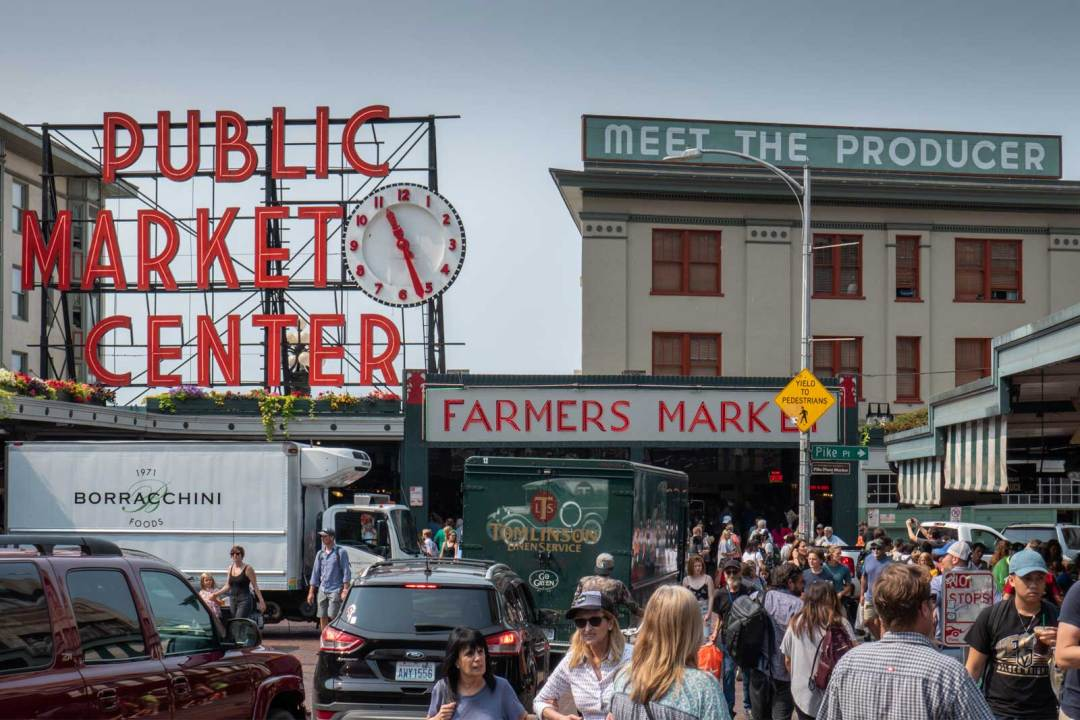 Public Market Center Pike Place Market Seattle