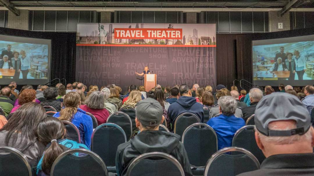Samantha Brown at the 2018 DC Travel and Adventure Show