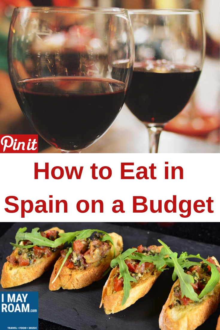 Pinterest How to Eat in Spain on a Budget