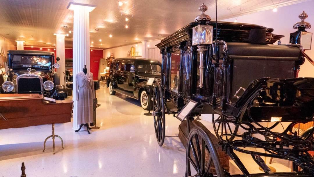Peoples Mortuary Museum Marietta Ohio