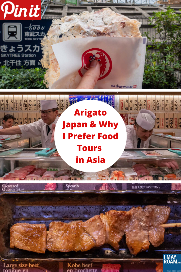 Pinterest Arigato Japan & Why I Prefer Food Tours in Asia