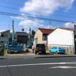 店舗(石材店、墓石屋)付き住宅の基礎柱状改良工事