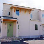 かわいい住宅の外観新築設計、デザイン