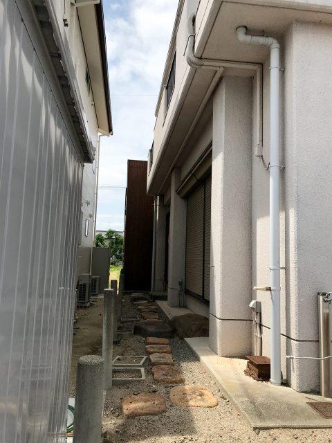 空き家を賃貸マンションへリノベーション改装設計デザインの既設南面