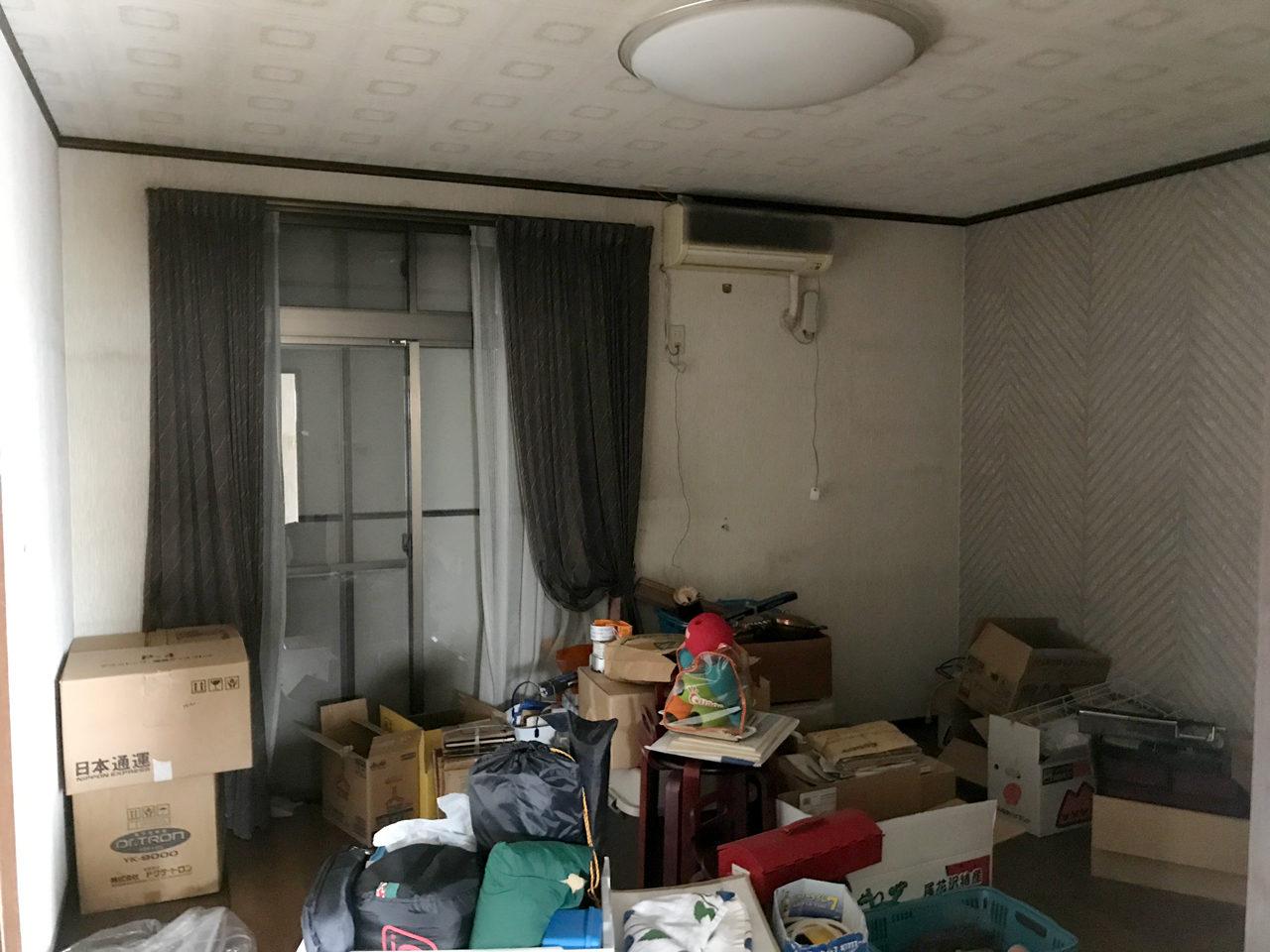 賃貸マンションのリノベーション改装設計、デザインの既設1階個室