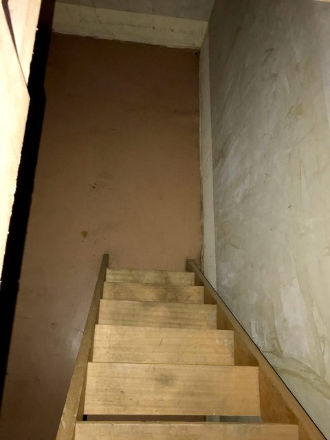 空き家を賃貸住宅へリノベーション改装設計、デザイン前の地下室