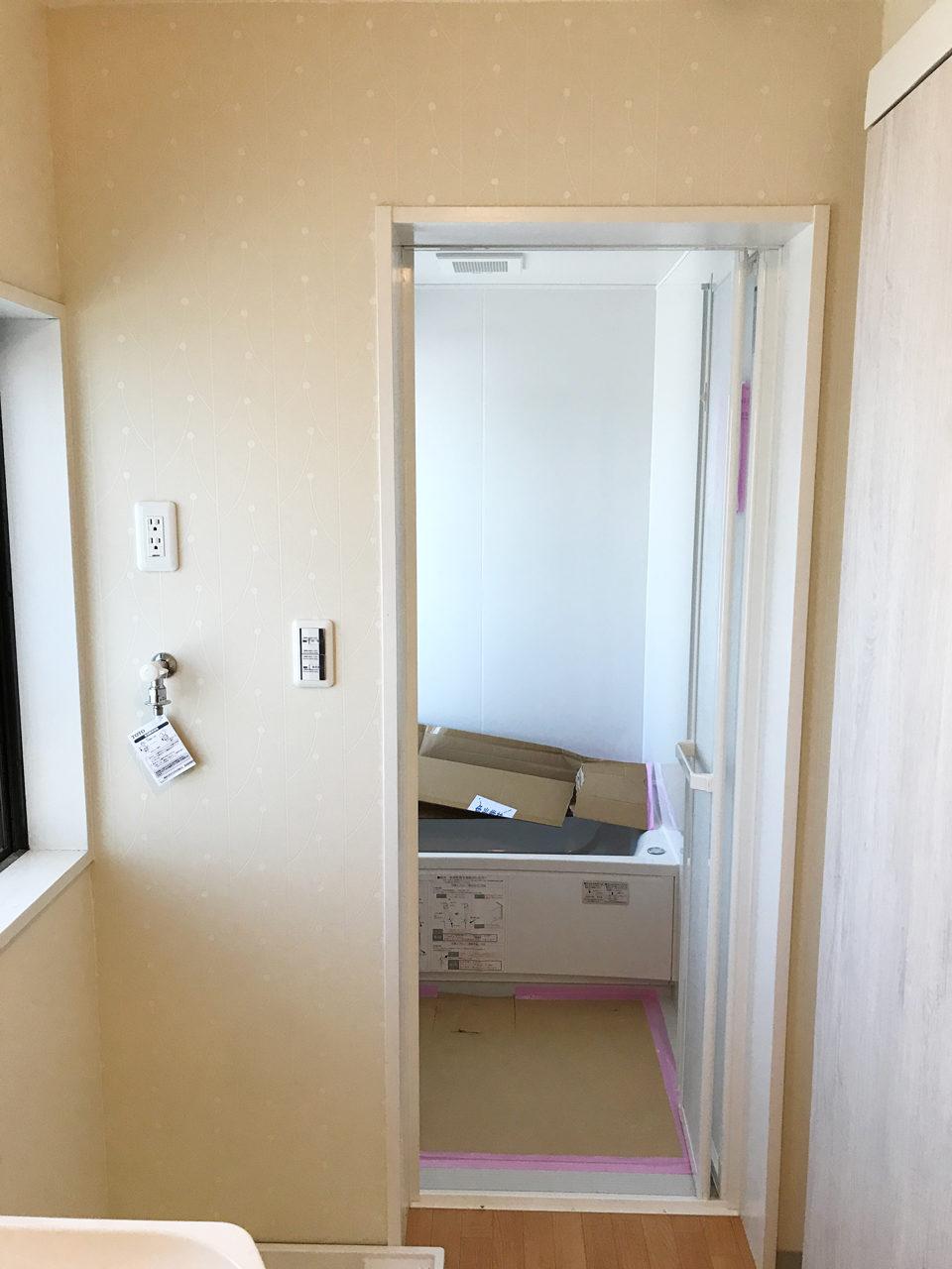 空き家を賃貸住宅へリノベーション設計後のトイレ