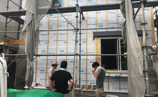 女性が喜ぶ木造二階建てデザイナーズ賃貸マンションの現場定例打ち合わせ