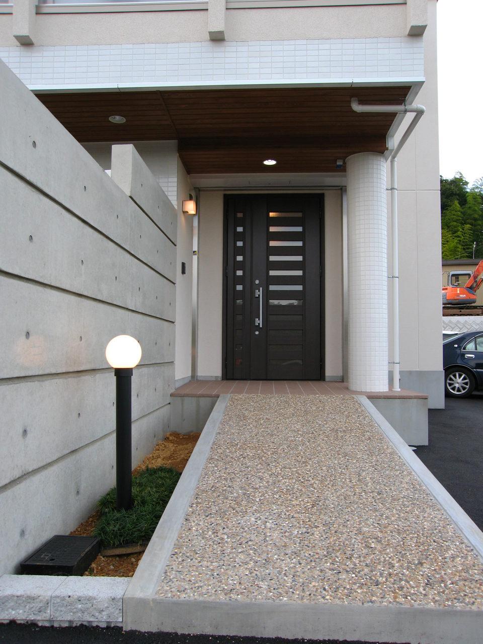 バリアフリー住宅兼事務所の新築設計