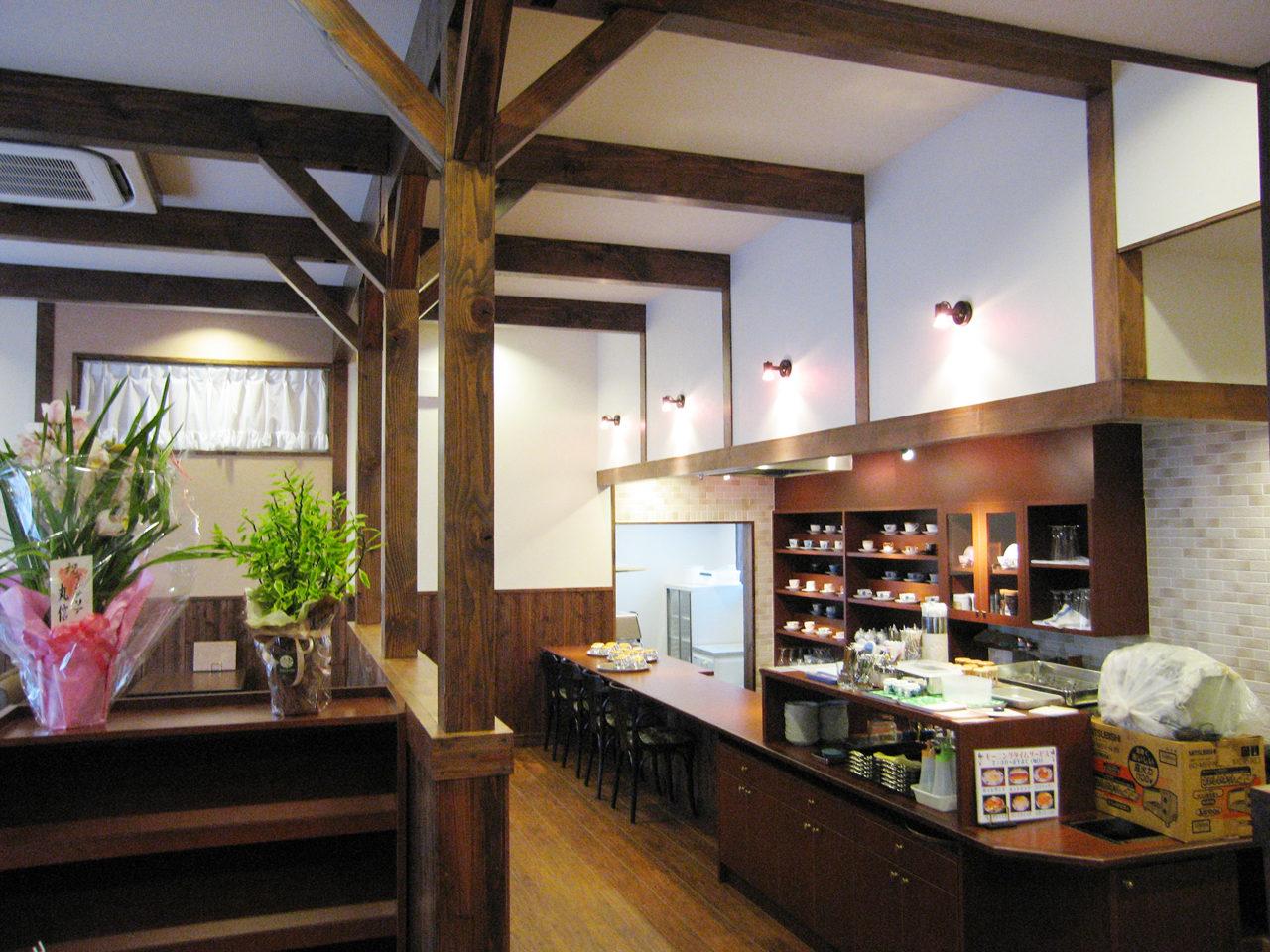 喫茶店の店舗デザイン、設計|一宮市