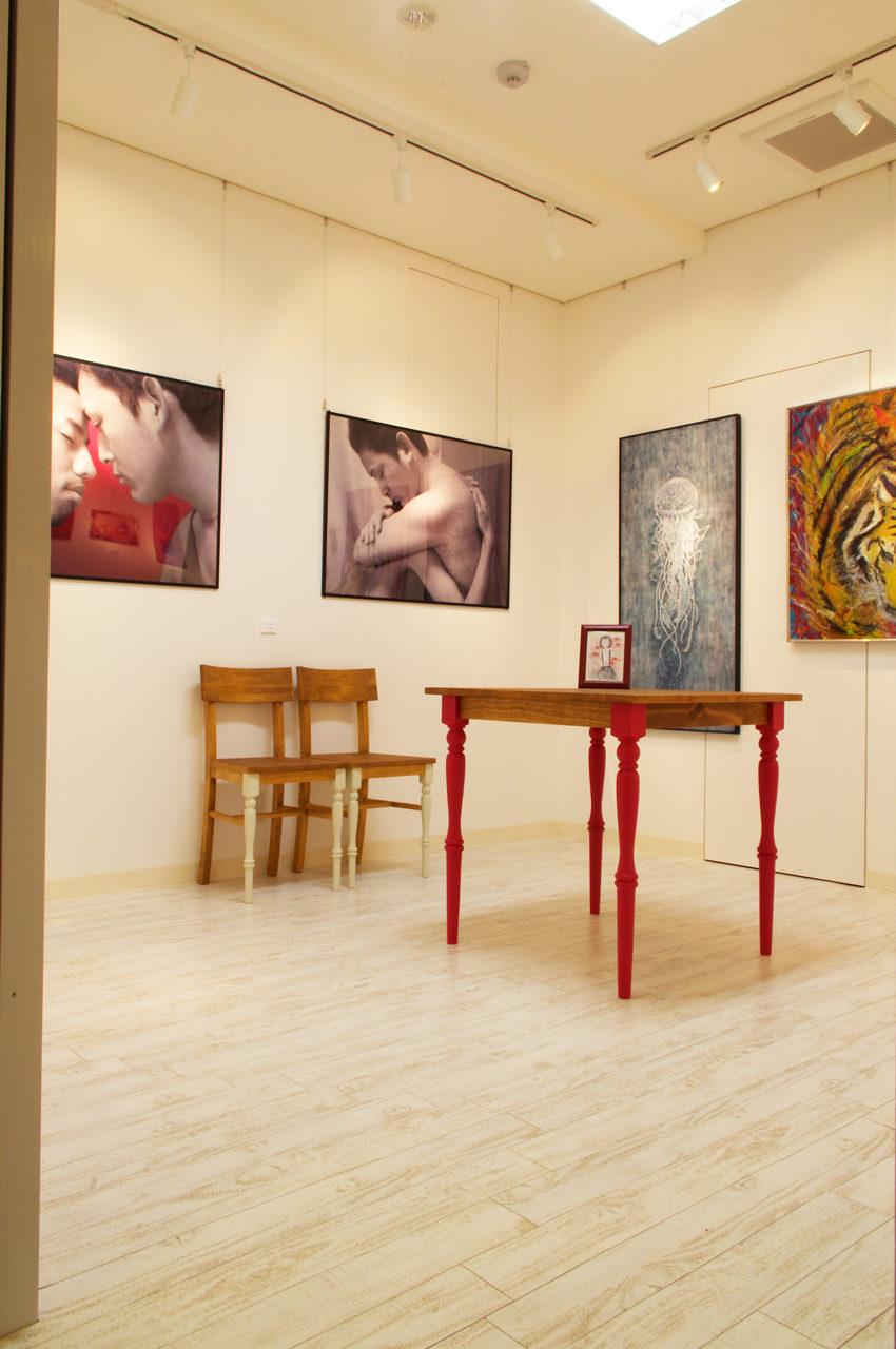店舗デザイン、新築設計したギャラリーとカフェ付き賃貸マンション|名古屋市