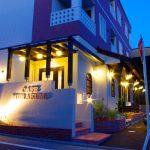 店舗デザイン、設計した名古屋市のカフェとギャラリー付き賃貸マンション