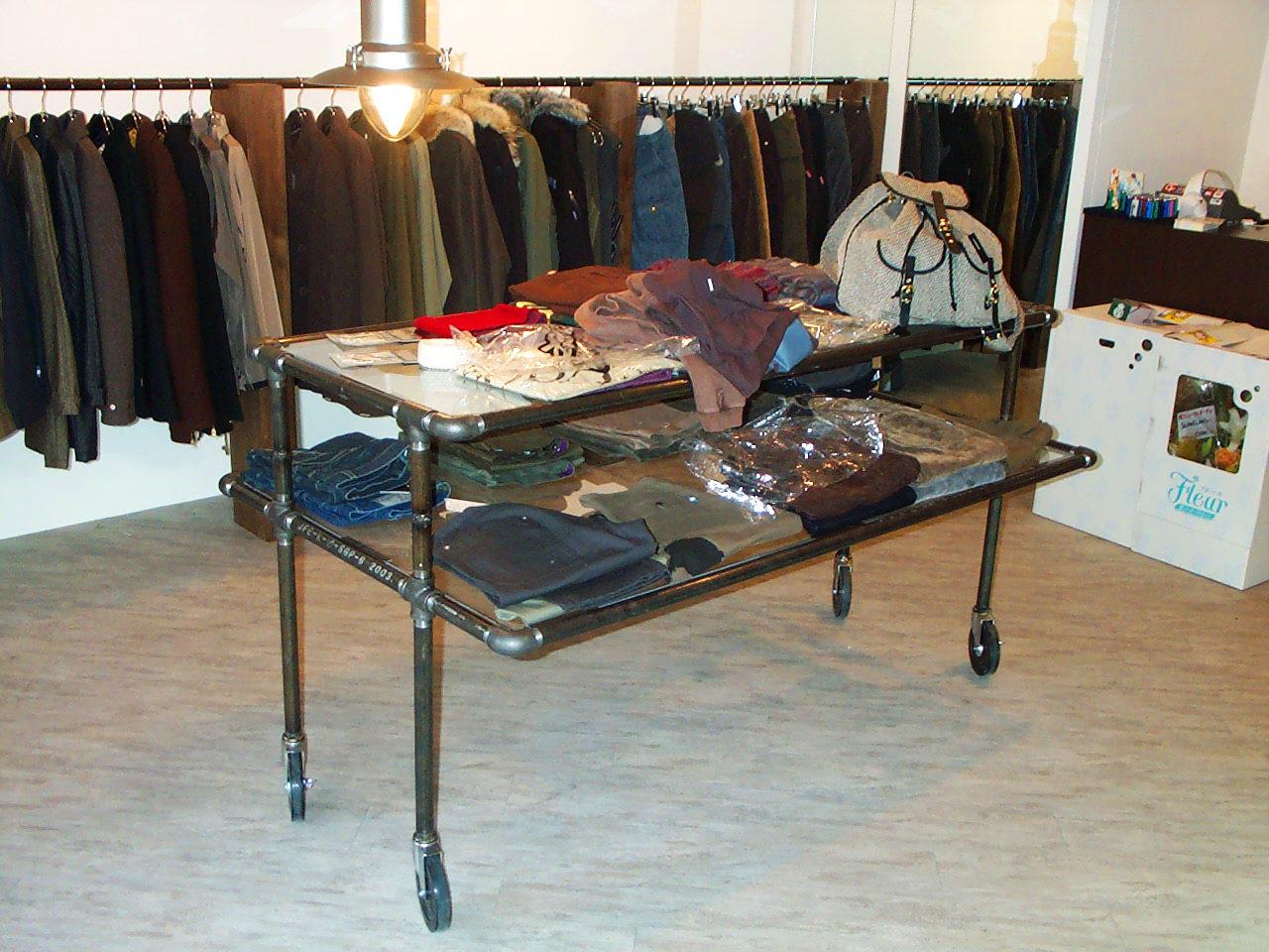 衣料品セレクトショップの店舗増築デザイン、改装設計