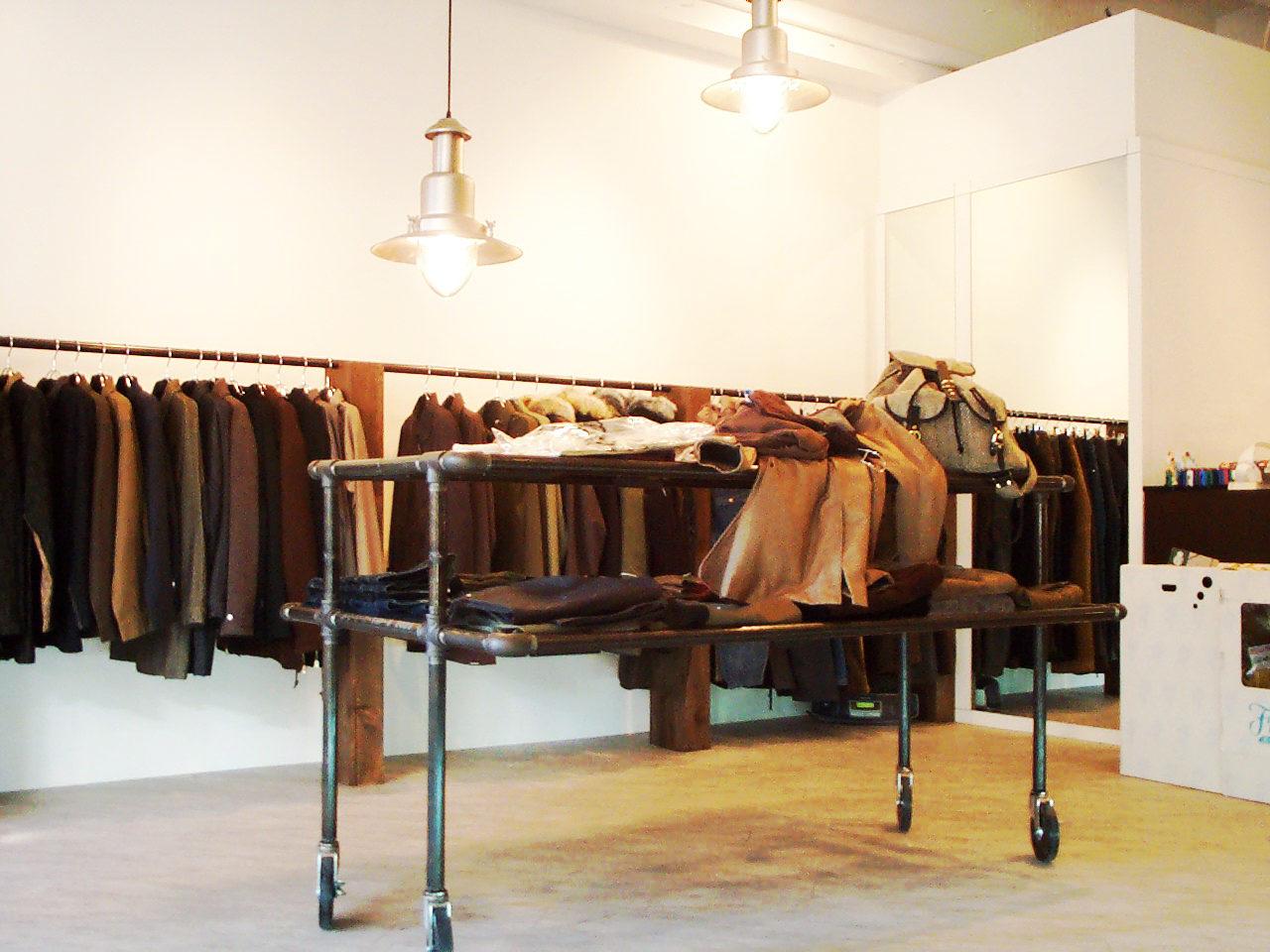 雑貨セレクトショップの店舗改装デザイン、増築設計