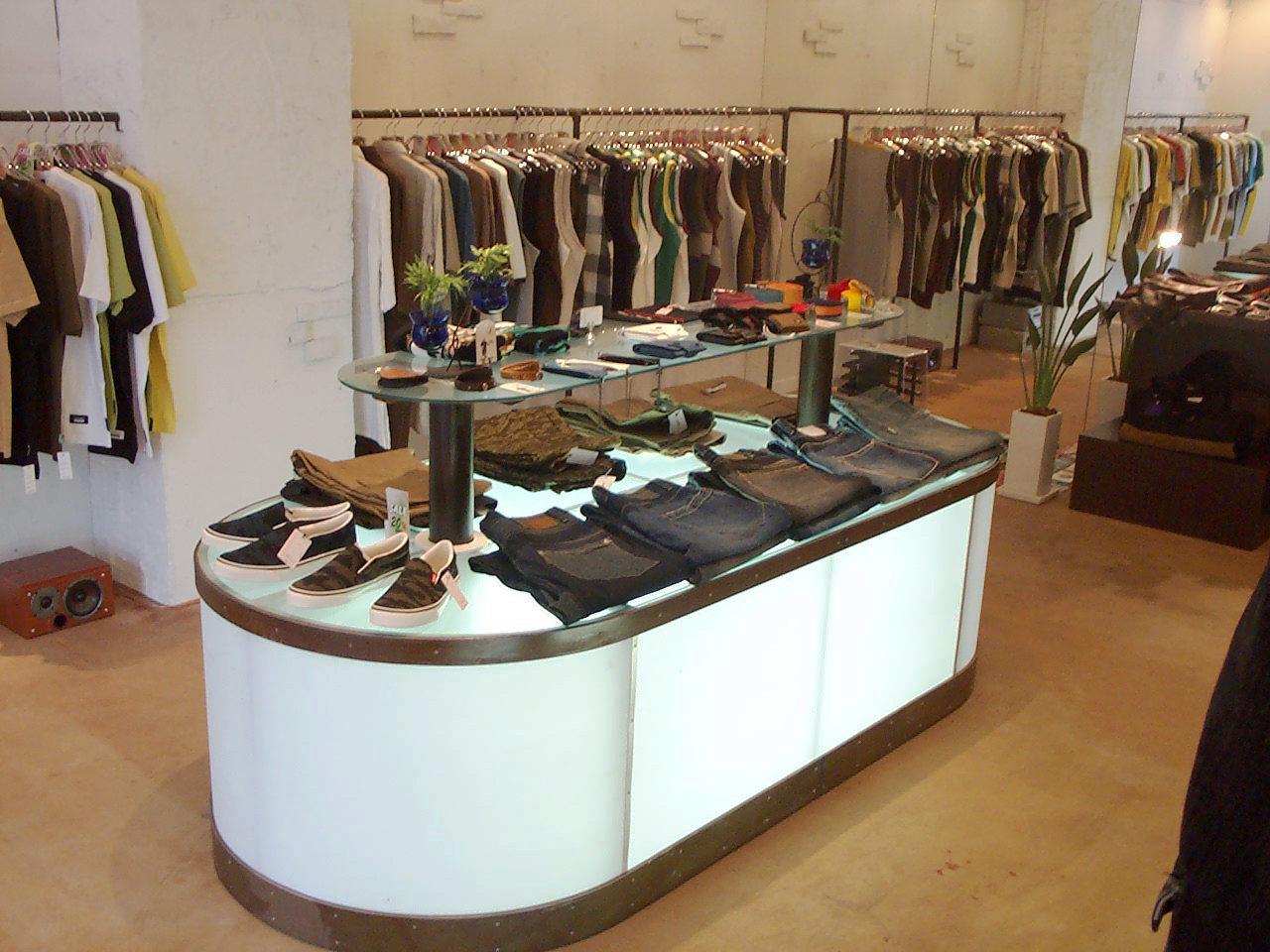 セレクトショップの店舗デザイン、改装設計