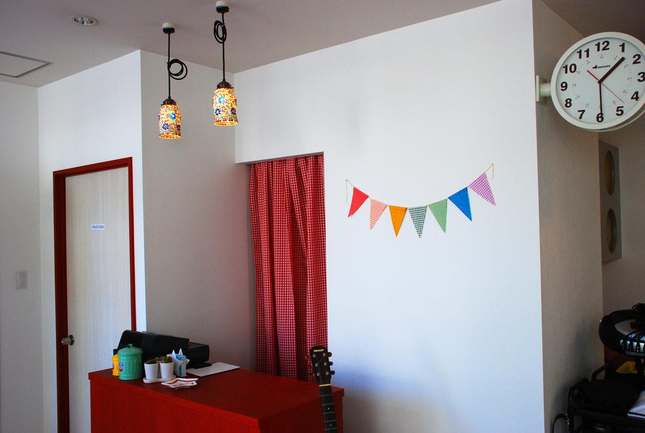 居抜きヘアサロン、美容院のカウンターの店舗デザイン、設計|一宮市