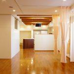 名古屋市で設計、デザインした鍼灸接骨院の施術室