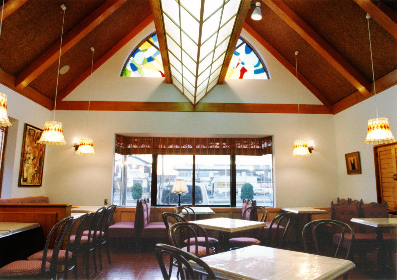 ステーキレストラン、ハンバーグレストランの店舗デザイン、新築設計 名古屋市