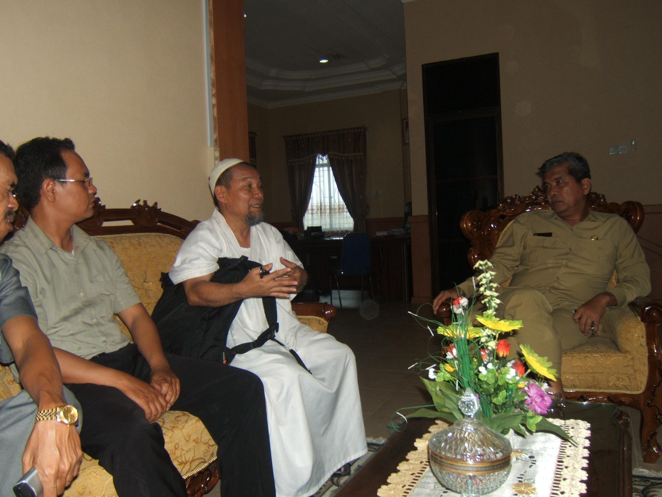 Ka Kanwil Depag Kepulauan Riau Drs H Razali Jaya