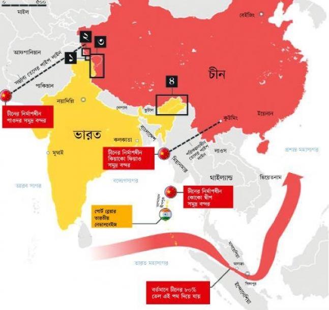 হায়দ্রাবাদ থেকে সিকিম হয়ে বাংলাদেশ:নেহেরু ডকট্রিন ও আজকের বাস্তবতা