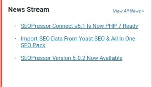 SEO Pressor news stream 300x173 - <b>SEOPressor Cool Tips - Reasons Why You Need It!<b> | IM Tools