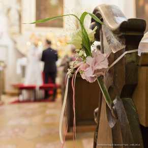 Kirchliche Trauung im Schloss Ort