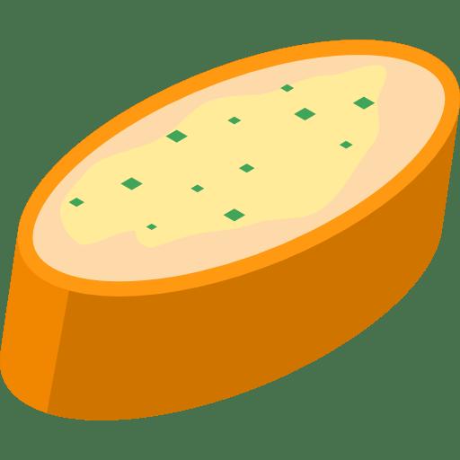 Baguette mit Kräuterbutter