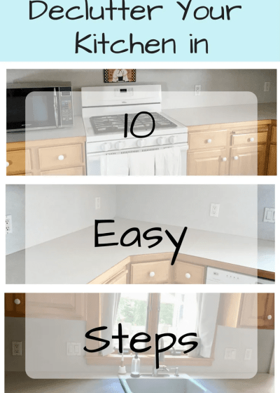 Declutter Your Kitchen in 10 Easy Steps