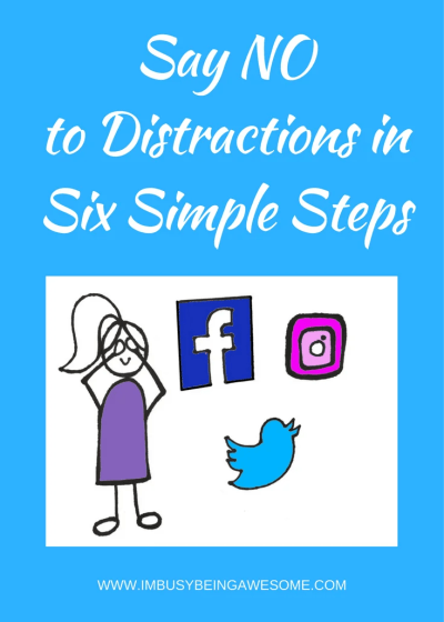 Avoid Distractions! Find your Work-Life Balance
