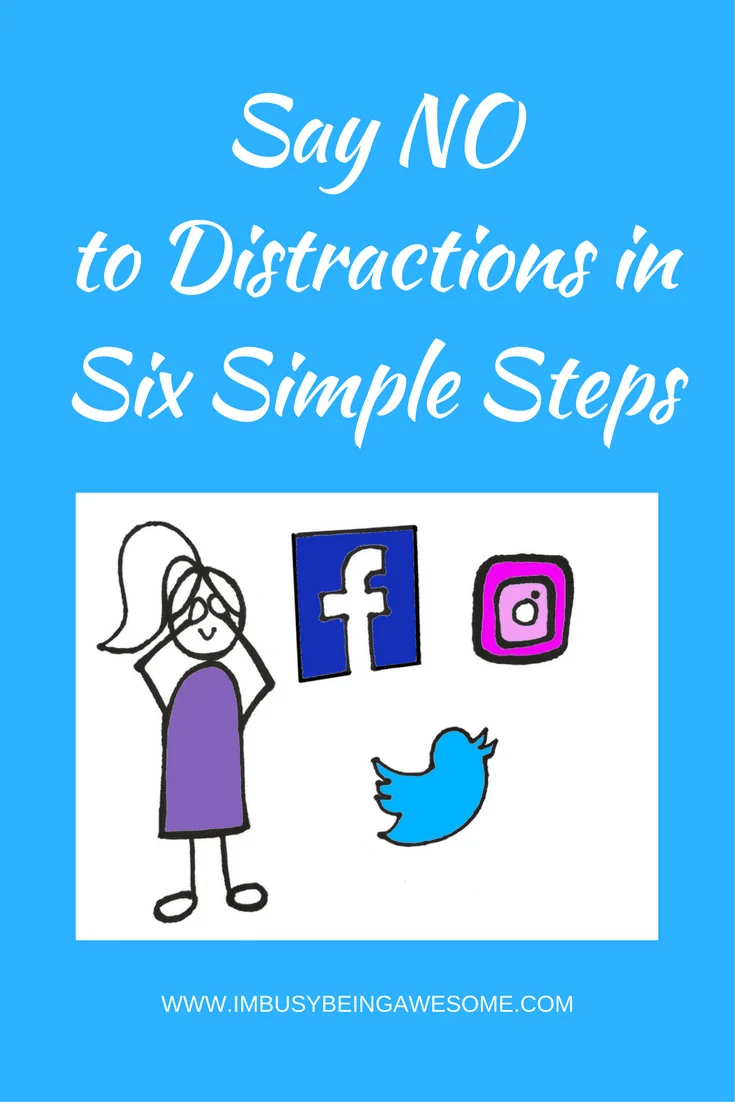 avoid distractions and increase productivity