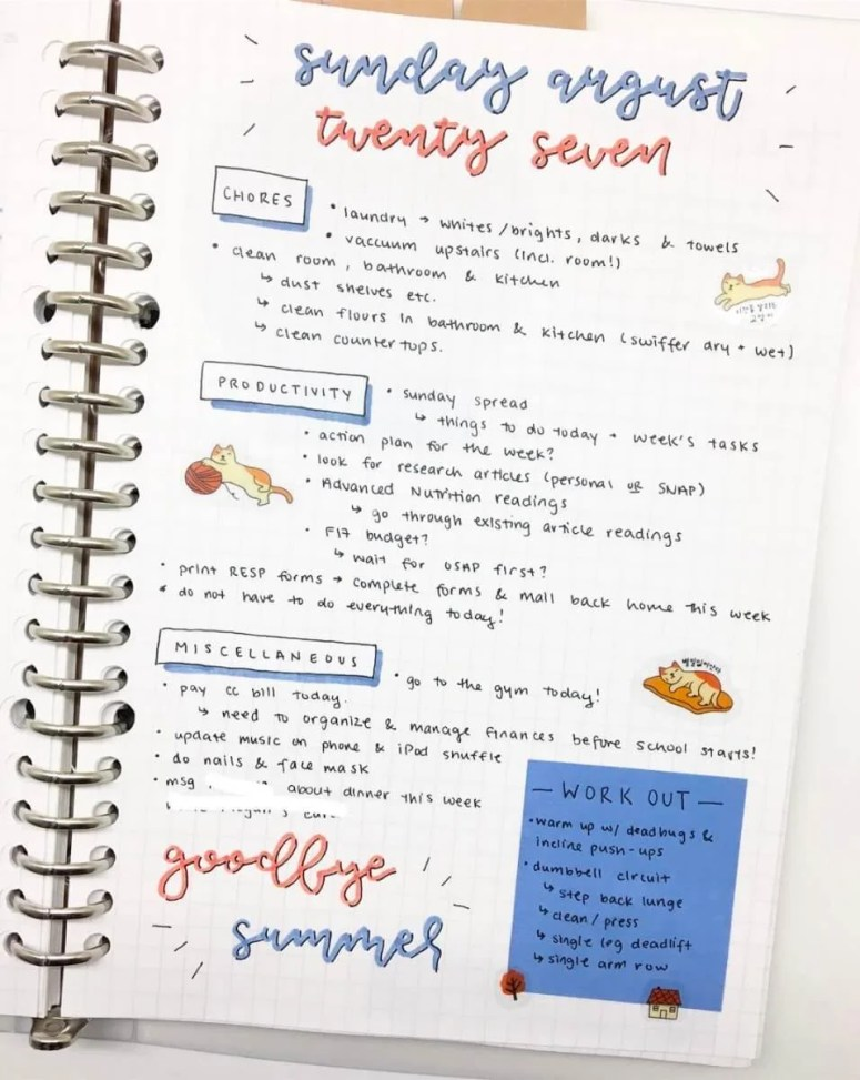 Bullet Journaling for Beginners daily
