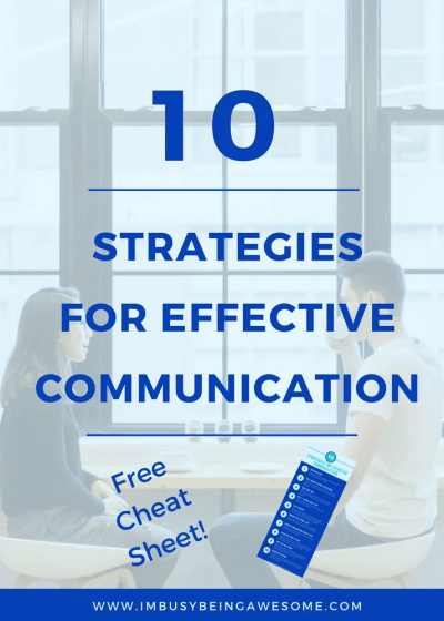 10 Strategies for Effective Communication
