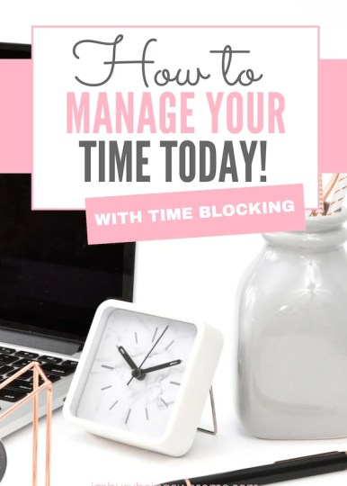 Trying to find ways to get more organized? Learn this number one strategy for time management. Learn how time blocking can help you become more organized and increase your productivity. #TimeManagement, #TimeBlocking, #organization, #Productivity, #WorkLifeBalance