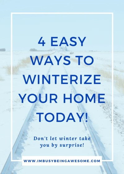 Winterize Your Home with 4 Simple Strategies