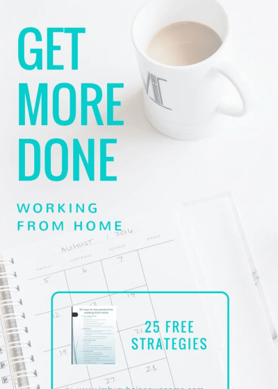25 Simple Tricks to Stay Productive Working From Home