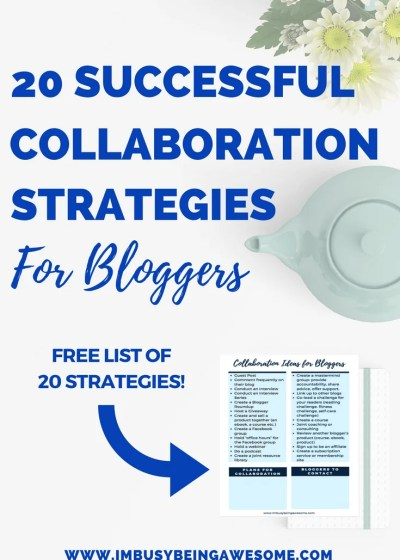 Collaboration Ideas For Bloggers