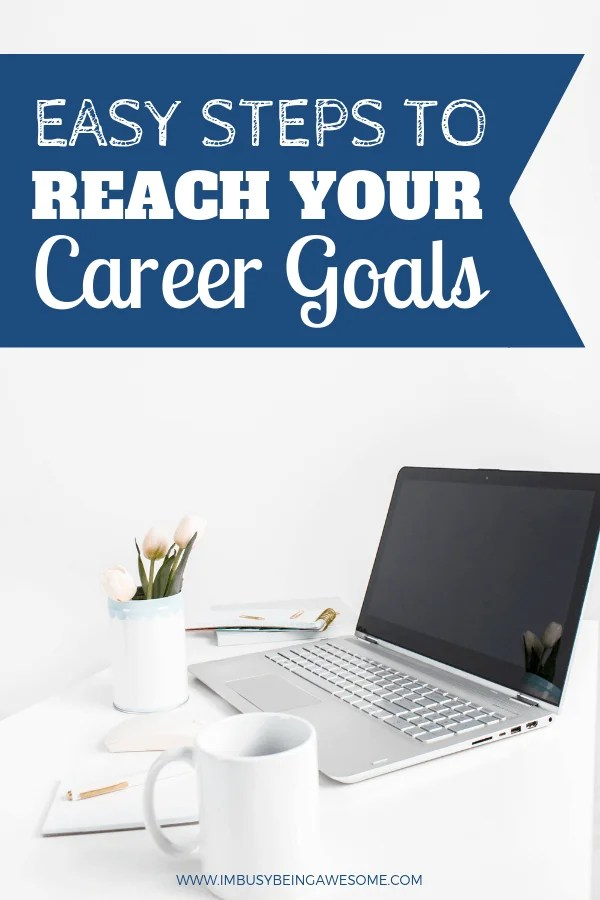 It's time to set career goals and find your dream job. Use these strategies to find inspiration and ideas to help you gain success and achieve your goals. It's time to get motivated. You are going to be successful. Start planning your goals today and have the future you dreamed of. #goals #goalplanner #career goals