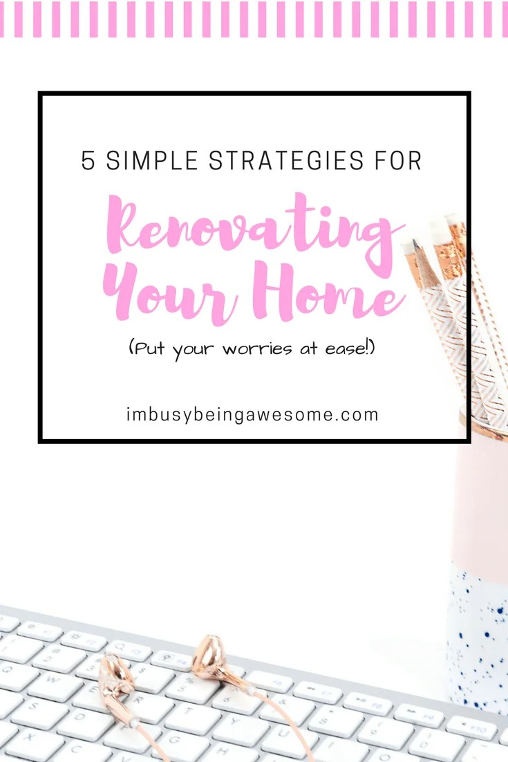 5 Top Home Renovation Tips Home renovation, organization, scheduling, tips and tricks, renovations, contractor, architect, home improvement, redecorate. Redecorating, budget, DIY #homerenovation #organization #scheduling #tipsandtricks #renovations #contractor #architect #redecorating #budget #DIY