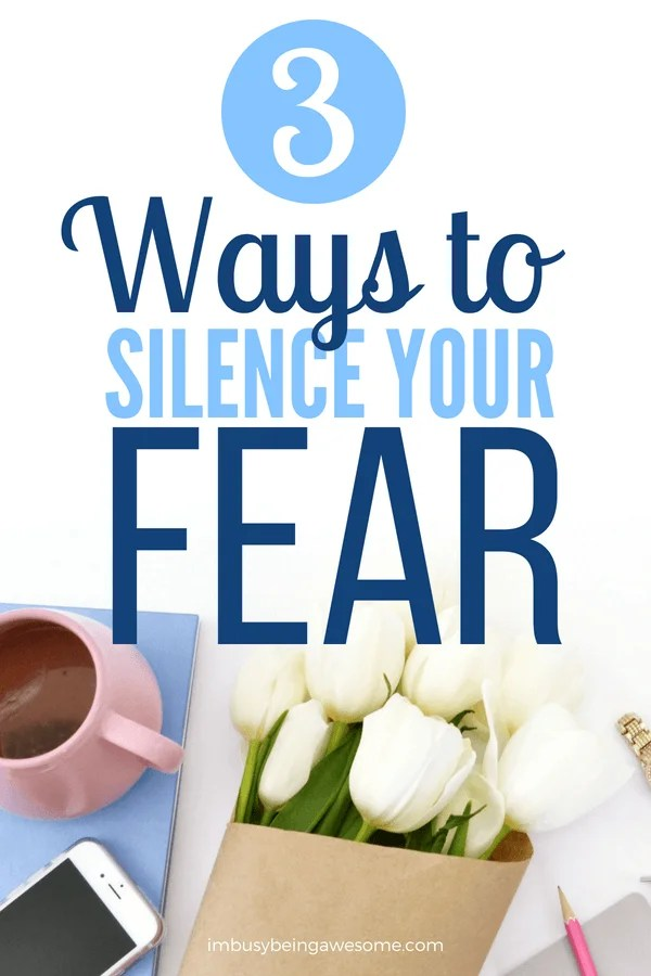 3 Ways to Overcome the Fear of Failure Do you struggle with getting started? Do you have a hard time completing things? Do you struggle with perfectionism? If so, this likely stems from your fear of failure. Learn how to calm your anxiety, silence your fear, and start achieving your goals today! #fear #failure #motivation #personaldevelopment #personalgrowth #entrepreneur #businesswoman #success #inspiration #anxiety