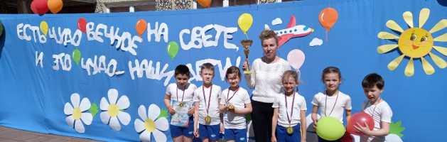 Итоги II этапа Спартакиад команд ГБДОУ «Азбука спорта»