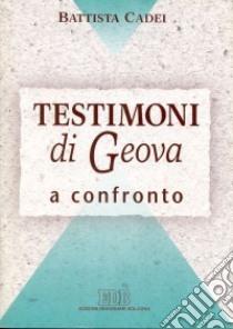 Testigos de Jehová en el libro comparación Cade Bautista