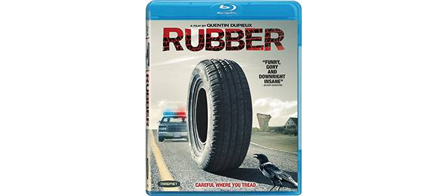 Quentin Dupieux - Rubber Blue ray dvd
