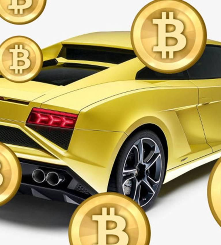 Hodl Bitcoin to get a Lamborghini