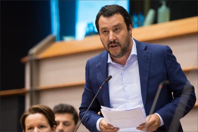 Salvini comizio