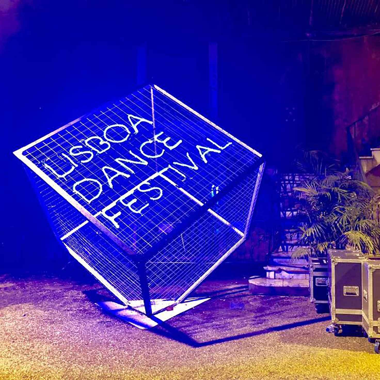 Lisboa Dance Festival Installazione luminosa