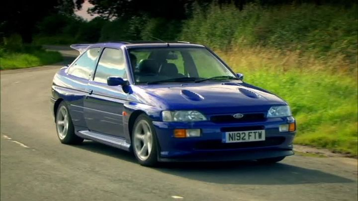 Imcdb Org 1996 Ford Escort Rs Cosworth Mkv In Quot Top Gear The Worst Car In The History Of The