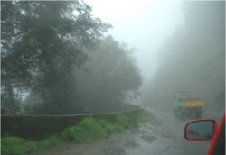 south-west monsoon rain in Kerala - India