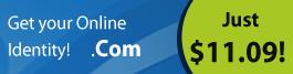 Register a .Com Domain Name
