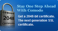 Comodo 2048-bit Certificate