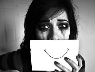 sad happy